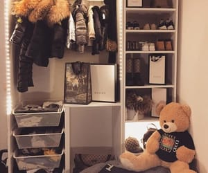 baby clothes, baby room, and home decor image