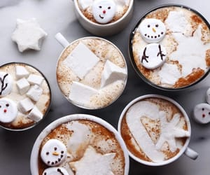 christmas, tasty, and hot ​chocolate image