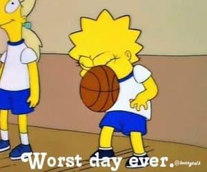Basketball, face, and lisa simpson image