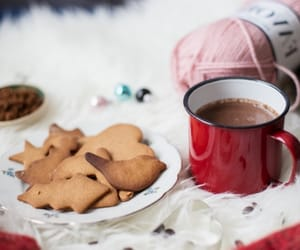 biscuits, christmas, and cozy image
