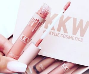 kylie cosmetics, lipstick, and makeup image