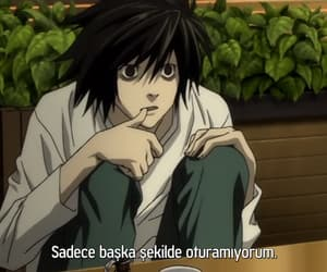 death note, light yagami, and kira image