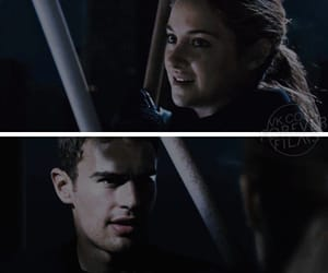 four, theo james, and tris prior image