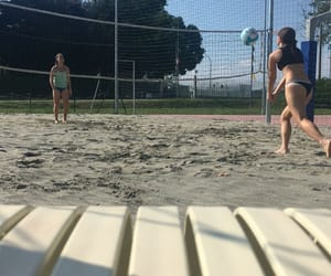me and volleyball image