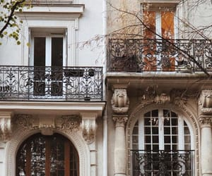 architecture, balcony, and buildings image