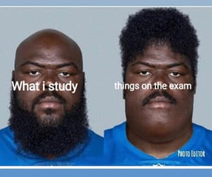 college, exam, and examination image