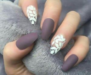 fashion, matte, and nails image