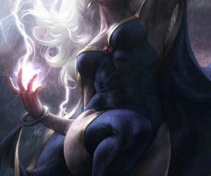 black, storm, and ororo munroe image