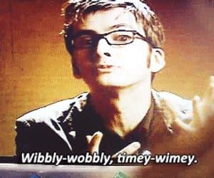 david tennant, doctor who, and gif image