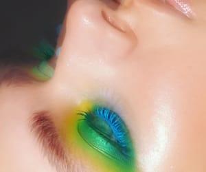 art, eyeshadow, and artist image