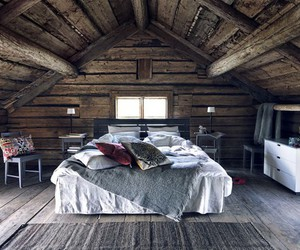 cabin, cosy, and place image