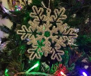 christmas, navidad, and snowflake image