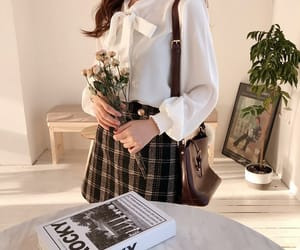 fashion, asian, and blouse image