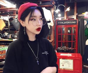girl, aesthetic, and korean image