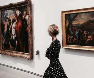 art, dress, and museum image