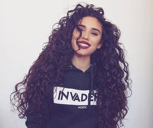 haïr, beautiful, and curly image