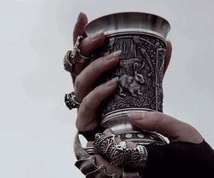 rings, cup, and silver image