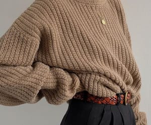 beige and sweater image