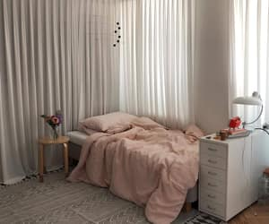 bedroom, pink, and aesthetic image