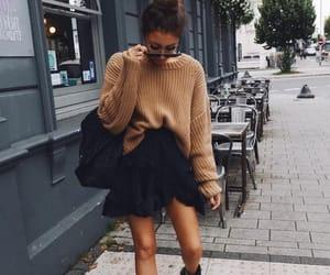 fashion, street style, and theme image