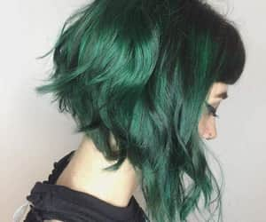 aesthetic, girls, and hair image