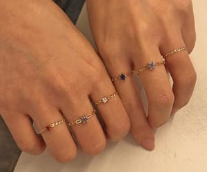 hands, rings, and accessories image