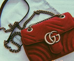 gucci, bag, and red image