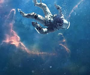 alone, background, and diving image