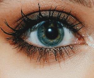 aesthetic, green eyes, and random image