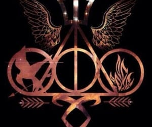 harry potter, fandoms, and mortal instruments image