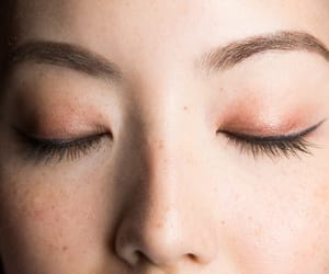 beauty, details, and eyeliner image
