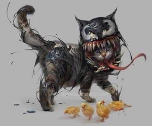 cat and venom image