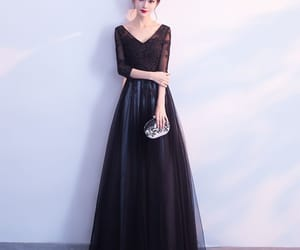 formal dresses, long prom dress, and a line prom dress image