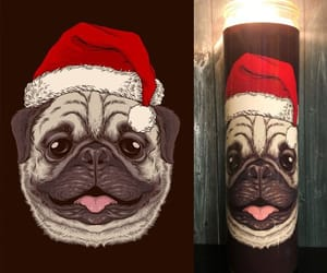 etsy, home decor, and pug image