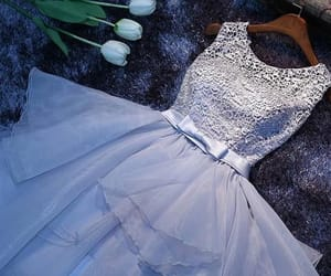 white homecoming dress, homecoming dress short, and prom dress ball gown image