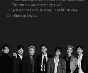 black suit, donghae, and elf image