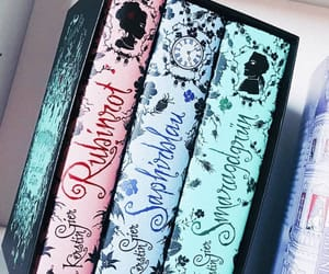 books, zafiro, and esmeralda image