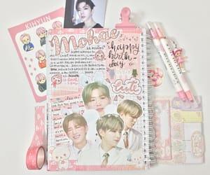 exo, journal, and kihyun image