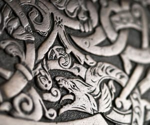 norse, shield, and vikings image