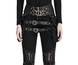 black, gothic, and steampunk image