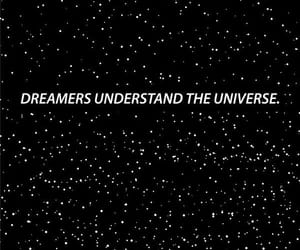 dreamer, stars, and universe image