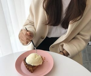 beige, cafe, and delicious image