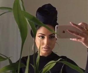 beautiful, girl, and turban image
