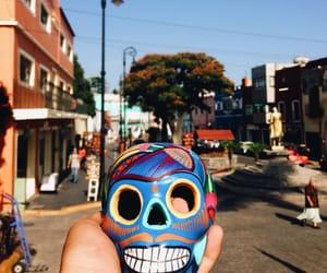 dia de muertos, muerte, and mexicanas image