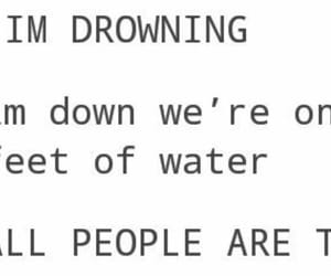 drown, feet, and funny image