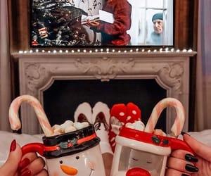 christmas, cozy, and holiday image