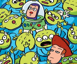 wallpaper, toy story, and buzz image