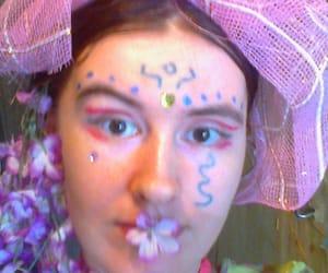 boho, makeup, and psychedelic image