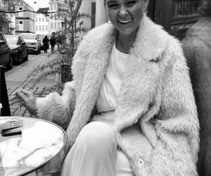 black and white, fashion, and beautiful image