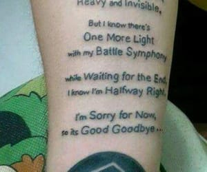 tattoo, brad delson, and linkin park image